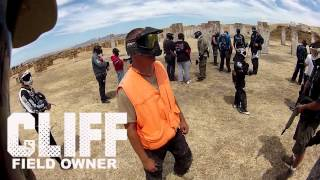 Mag-fed player keeps up with hoppers at American Paintball Park