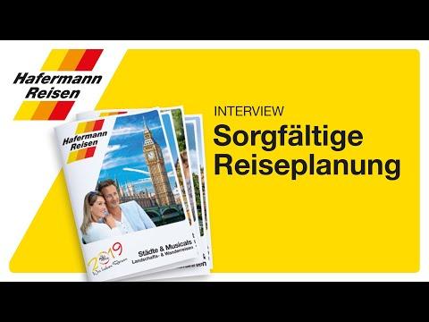 Hafermann Reisen Reiseplanung mit Sylvana Oelmann