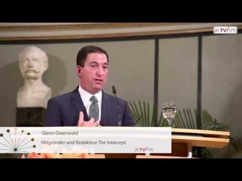 Glenn Greenwald in München: Edward Snowden, NSA. Aktivismus & Demokratie