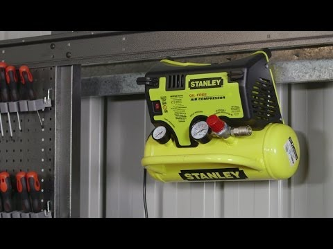 Stanley Wall Mount Air Compressor