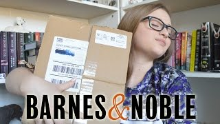 BARNES & NOBLE BOOK UNBOXING