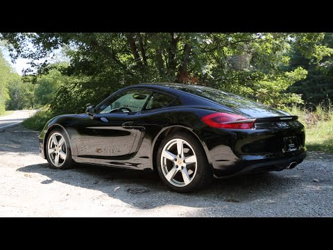 2014 Porsche Cayman 275hp Road Test and Review