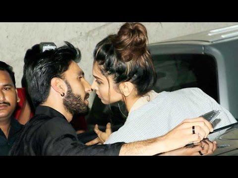 Shocking! Deepika Padukone Publicly Kisses Ranveer Singh