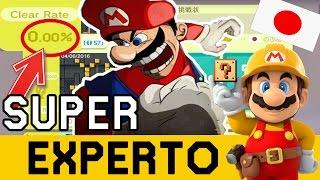 0.00 % Clear Rate Salvaje Apareció!! - SUPER EXPERTO NO SKIP   Super Mario Maker   ZetaSSJ