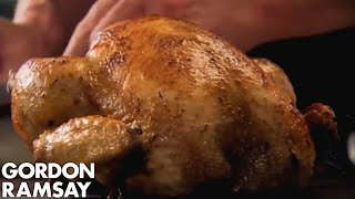 Stuffed Roast Chicken with Chorizo - Gordon Ramsay