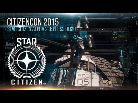 Star Citizen Alpha 2.0: Press Demo