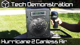 Hurricane 2 Canless Air System Demo and Review - Bit Fenix Prodigy Dusting! - ChicagolandGeeks