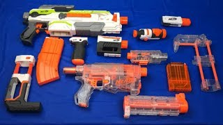 Toy Weapons Box of Toys Nerf Modulus Toy Guns