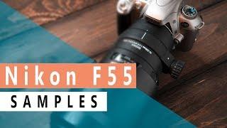 Nikon F55  analog film camera /sample images