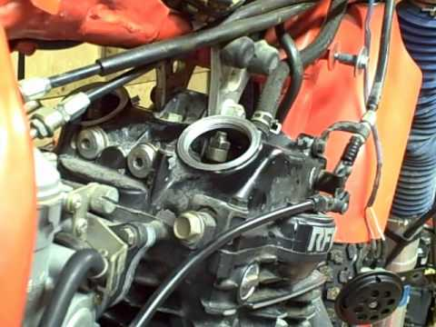 Motorcycle Repair: How to adjust the Valves or Valve Lash on a 1985 Honda XR600