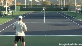 Bob and Mike Bryan Hitting
