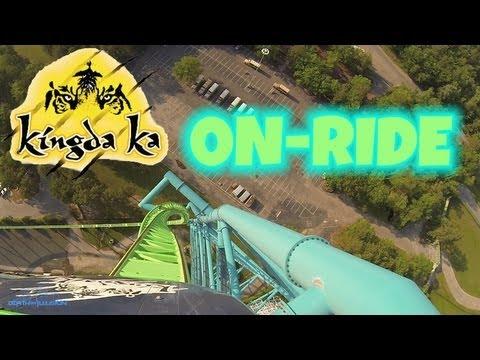 Kingda Ka On-ride Front Seat (HD POV) Six Flags Great Adventure