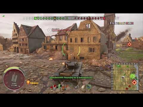 World of Tanks Xbox one British Bulldog Churchill VII 2 Kills (Mastered)