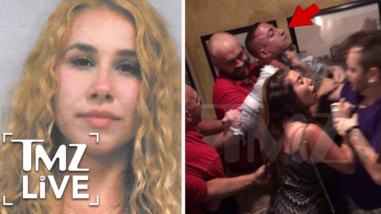 'American Idol' Haley Reinhart Arrest, Bouncers Put Friend in Brutal Choke Hold | TMZ Live