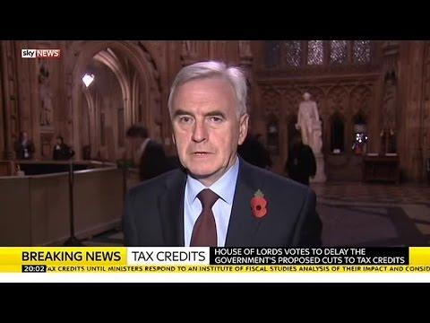 "Shadow Chancellor John McDonnell MP: ""George Osborne's Got To Think Again"""
