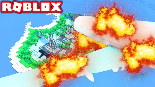 SURVIVE A PLANE CRASH IN ROBLOX!