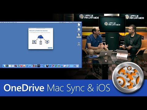 First look at the new Mac sync client & updated iOS app for OneDrive for Business