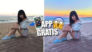 COMO EDITAR FOTO TIPO GRINGA - APPS GRÁTIS!