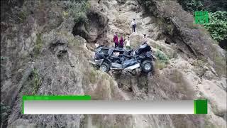 Cứu hộ xe lao xuống vực sâu 200m ở Sơn La | VTC14