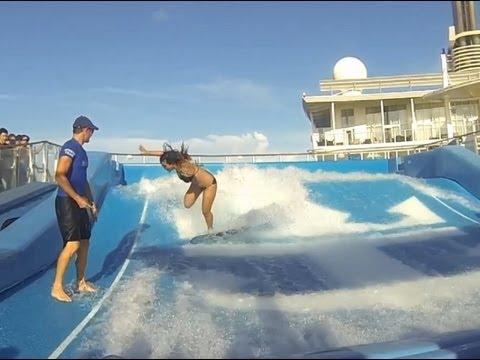 Royal Caribbean Family Cruise Ship Trip GoPro Hero 4 Allure of the Seas Krewella - Alive HD