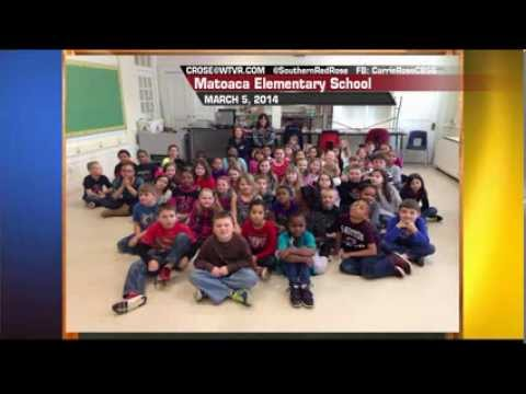 Carrie In Your Class: Matoaca Elementary School March 5 2014