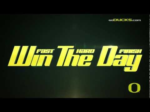 2012 Oregon Football Intro Video