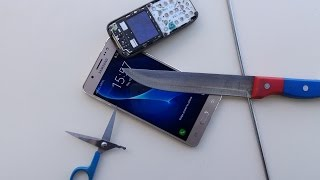 Samsung Galaxy J5 2016 Scratch Test
