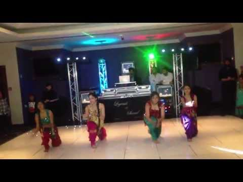 Bhangra Dance Performance For Chaz's Wedding! video