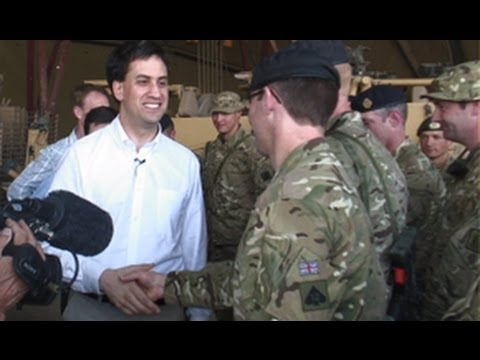 Ed Miliband's Armed Forces Day Tribute