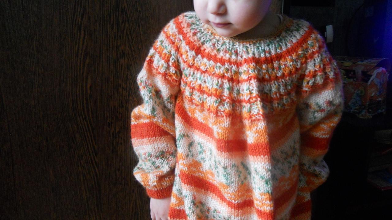 Я мастерица вязание спицами для девочек 3 лет 19