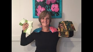 HOW TO - MAKE HEAT PACKS & ICE PACKS - WITH FABRIC SCRAPS & FEED CORN