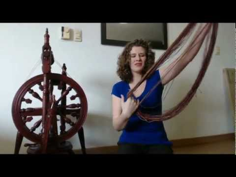 Setting Twist for Handspun Yarn - How To - Tutorial - Expertly Dyed