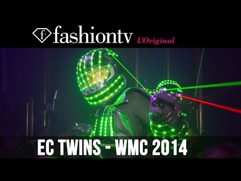 EC Twins @ Club Bamboo, WMC 2014 Miami Beach | FashionTV