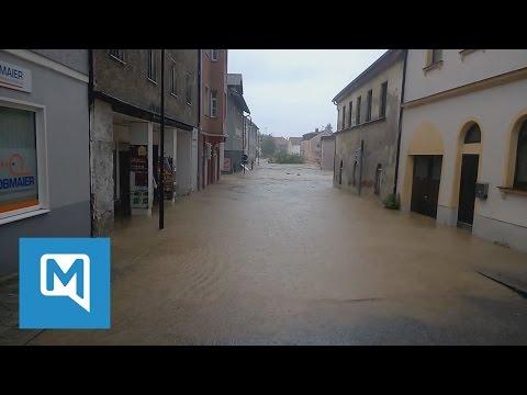 Katastrophenalarm in Niederbayern: Ãœberschwemmungen in Simbach