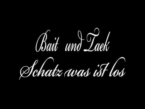 Bait & Taek - Schatz was is los