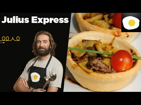 Tartaletas de alcachofas con foie, Julius Express