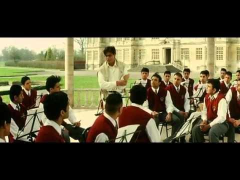 proposing scene in Mohabbatein ft Shahrukh khan & Aishwarya...
