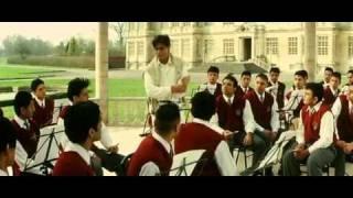 proposing scene in Mohabbatein ft Shahrukh khan & Aishwarya rai.mkv