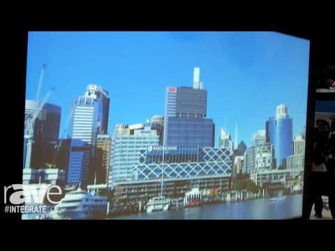 Integrate 2016: Hitachi Demos FL710 Ultra Short Throw Projector Lens