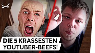 Die 5 KRASSESTEN YouTuber-Beefs! | TOP 5