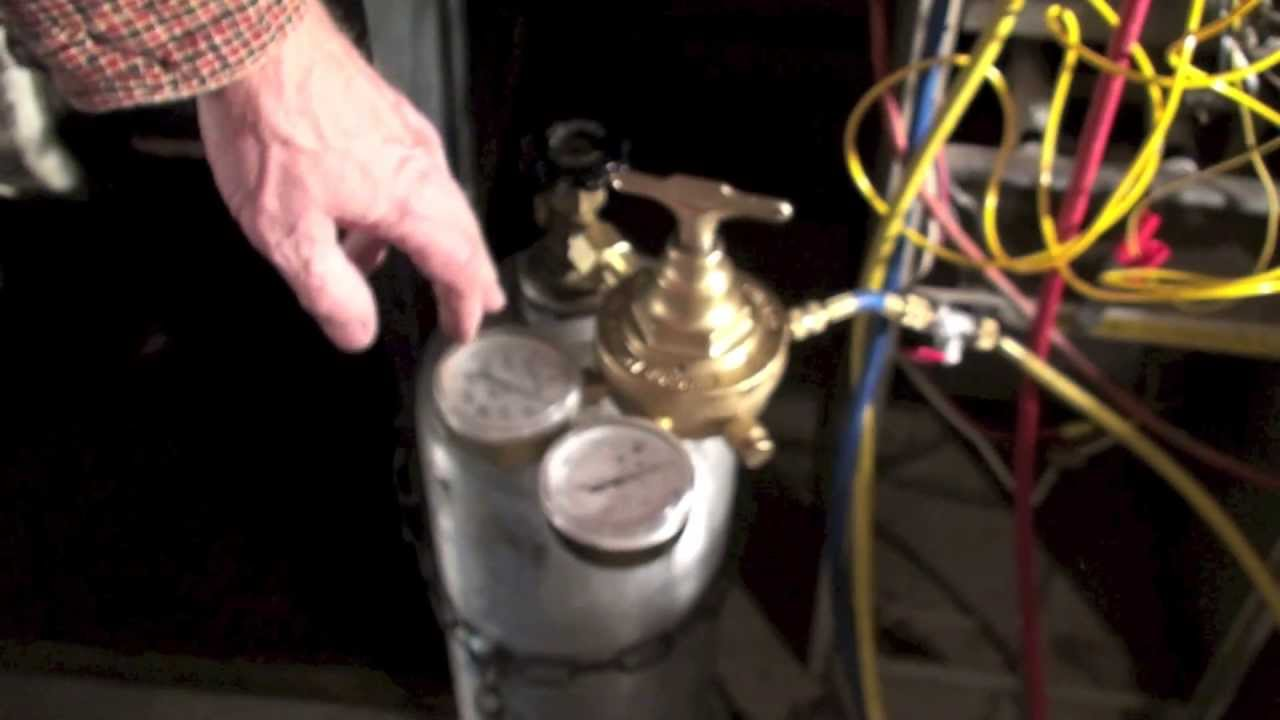 How To Pressure Test The A C Unit Part 1 Youtube
