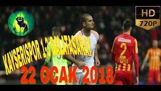 download lagu Kayserispor 1-3 Galatasaray Maç Özeti 22 Ocak 2018 gratis