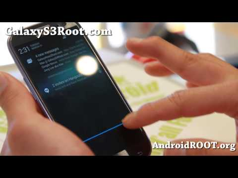 Gummy ROM Android 4.4.2 KitKat for Galaxy S3!