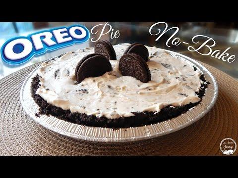 No-Bake Oreo Pie Recipe | How To Make an Oreo Pie | The Sweetest Journey