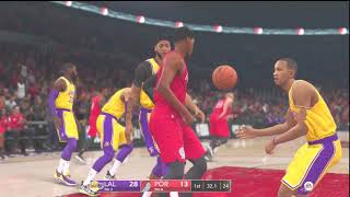 (NBA Live 19) 2019 2020 Season Preview (Los Angeles Lakers vs Portland Trail Blazers)