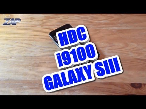 HDC i9100 Galaxy SIII Android Dualsim Phone Review - Samsung S II Clone? Fastcardtech ColonelZap