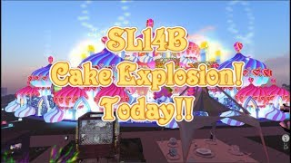 SL14B CAKE EXPLOSION!!!