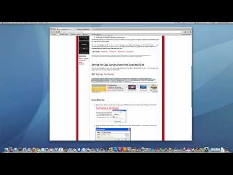 Remove Surveys From Websites (Mac & PC. Any Web Browser)