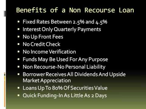 Non Recourse Loan