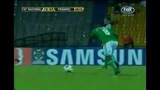 Gol de Dorlan Pabon Nacional vs Peñarol Copa Libertadores 10 de abril de 2012